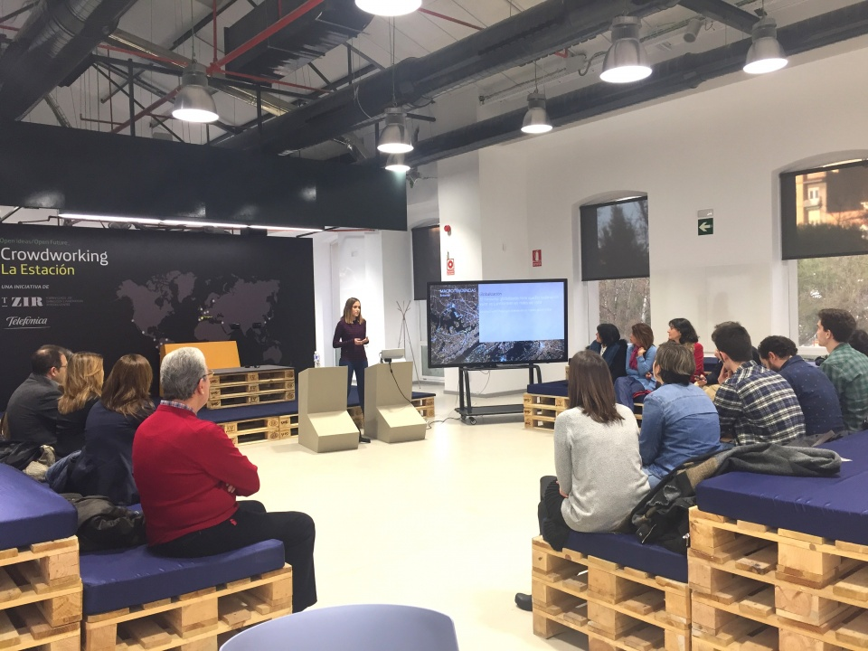 Presentation of the 1st edition of the retail accelerator to the Aragonese entrepreneurs.